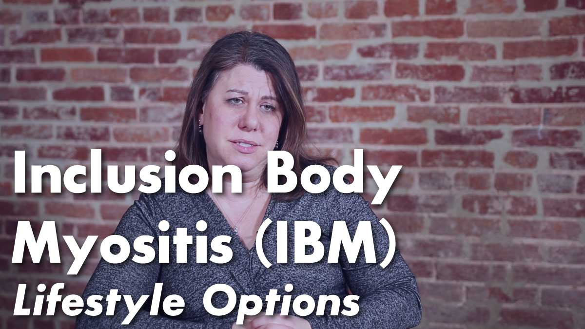 Living with Inclusion Body Myositis