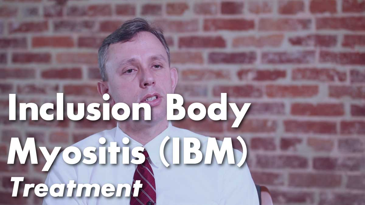 Inclusion Body Myositis Treatment