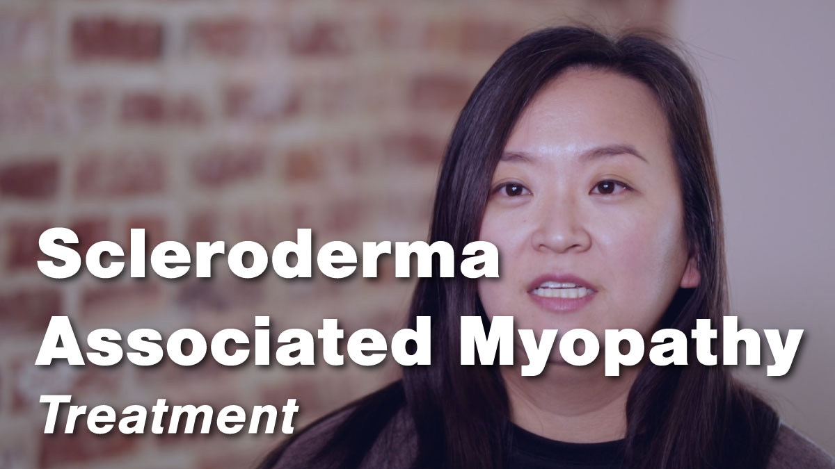 Treatment of Scleroderma Associated Myopathy